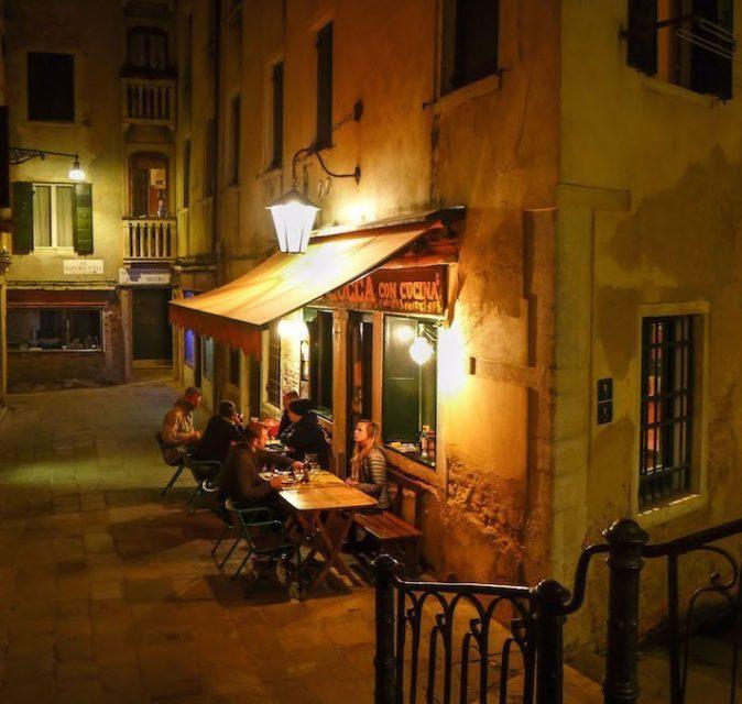 Ristorantini romantici a Venezia