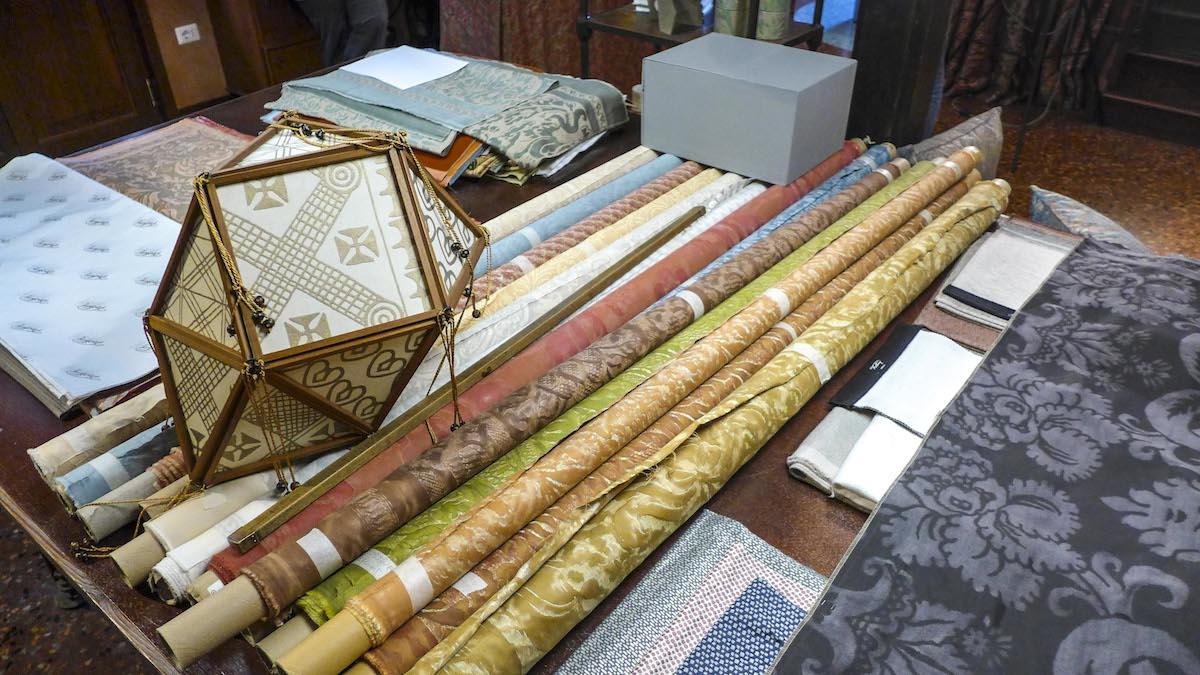 Fortuny Artistic Fabrics (VE) — Veneto Secrets