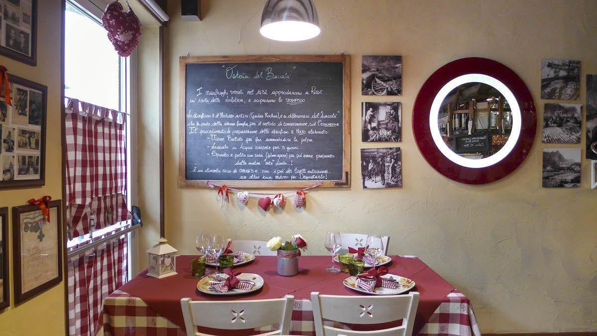 Osteria del Baccalà (VE) — Veneto Secrets