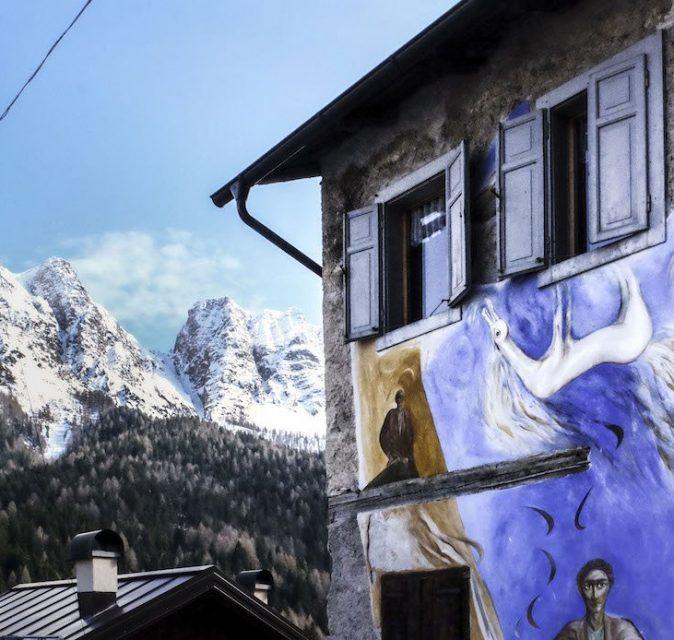 Cibiana di Cadore street art - Veneto Secrets