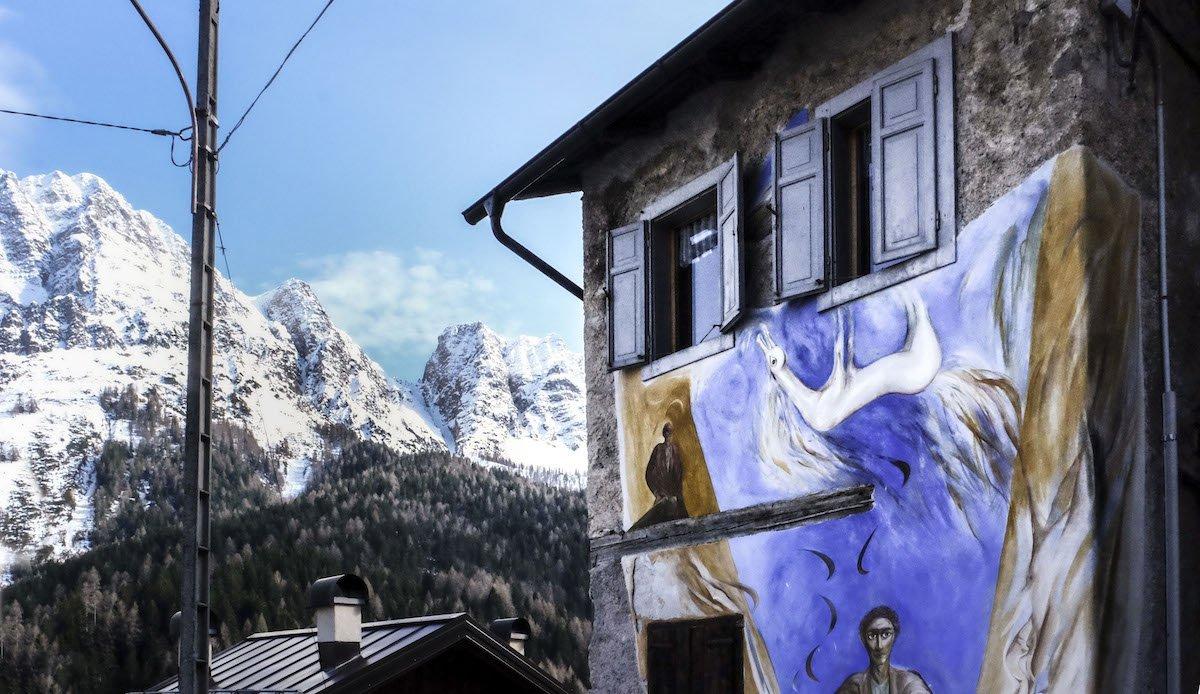 Cibiana di Cadore, quando la street art salva la storia — Veneto Secrets