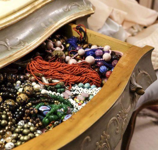 La casa museo di Giusy Moretti, l'artista delle Murrine gioiello